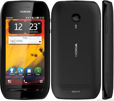 Harga Dan Spesifikasi Nokia 603 Terbaru 2012 GAMBAR  NOKIA 603
