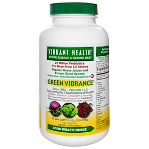 Organic Grass Juices and Freeze Dried Greens + Probiotics + Vitamin D3 + Herbs