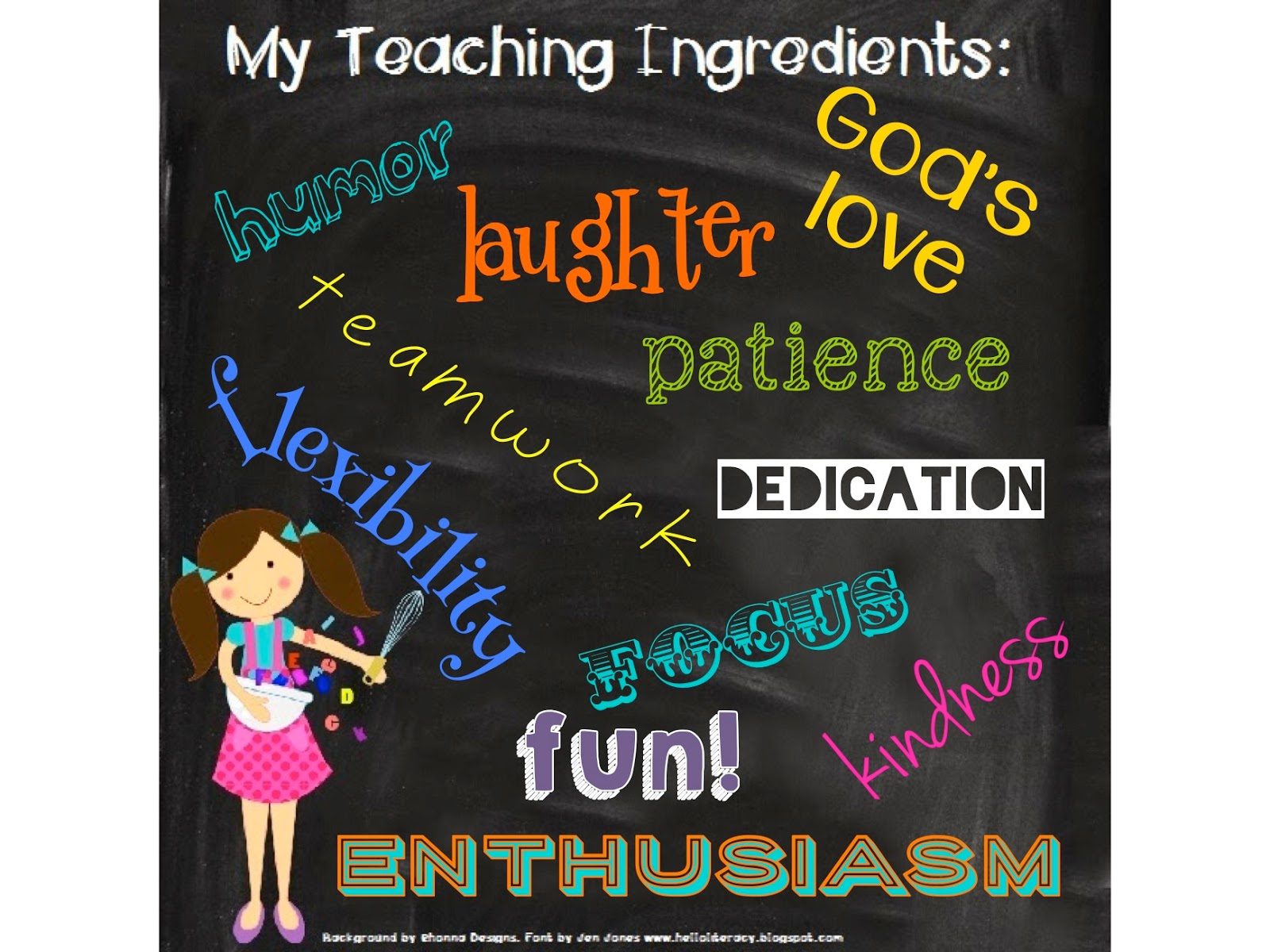 Light Bulbs and Laughter - My Ingredients for Teaching