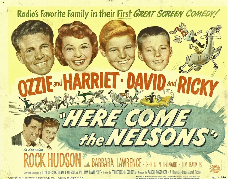 """Here Come the Nelsons"" (1952)"