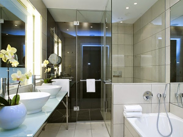 Charming modern bathroom designs of your dreams for Modern bathroom design ideas