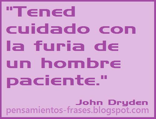 frases de John Dryden