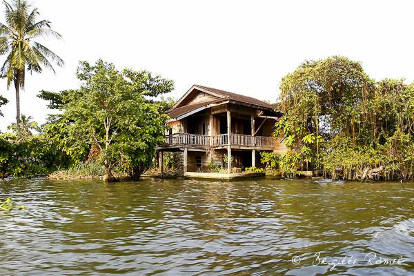 La Thailande et l'eau, les klongs
