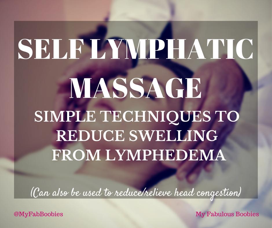 Self Lymphatic Massage | My Fabulous Boobies
