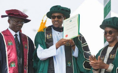 Buhari honoured in KASU