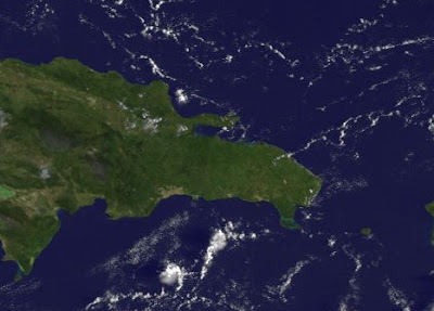 Satellitenbild & Live Webcams Punta Cana und Cabarete, Dominikanische Republik, lassen einen herrlichen Urlaubstag erwarten, Punta Cana, Dominikanische Republik, Satellitenbild Satellitenbilder, Wettervorhersage Wetter, Oktober, Hurrikansaison 2011, Philippe, Touristen, 2011,