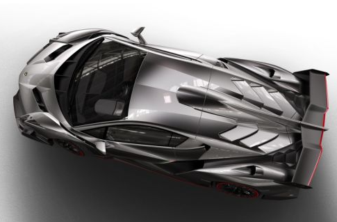 grey Lamborghini veneno italian convertible
