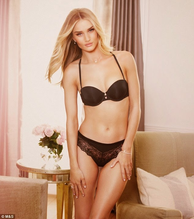 Rosie Huntington-Whiteley for Marks and Spencer Lingerie Collection