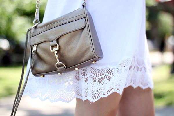 Rebecca Minkoff Bronze Mini Mac Bag