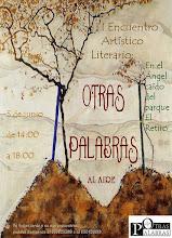 """1º FESTIVAL ARTÍSTICO-LITERARIO """"OTRAS PALABRAS AL AIRE"""""""