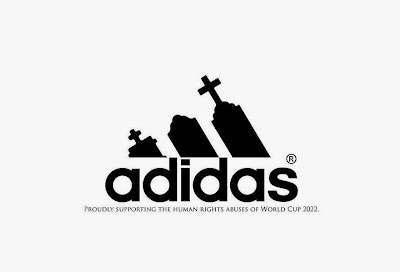 Logo de Adidas humor negro