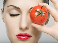 healthy skin with tomato Benefits