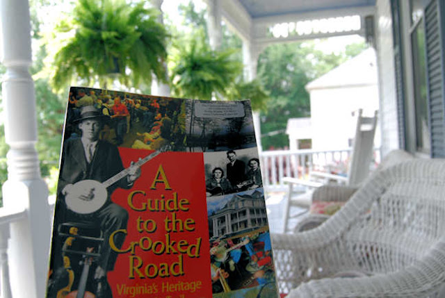 Sit a spell on the porch at The Claiborne House Bed and Breakfast