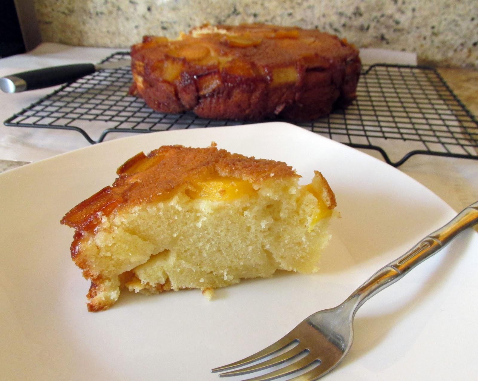 Polamalu Upside Down Cake | Stiller Nation Snacks N'at