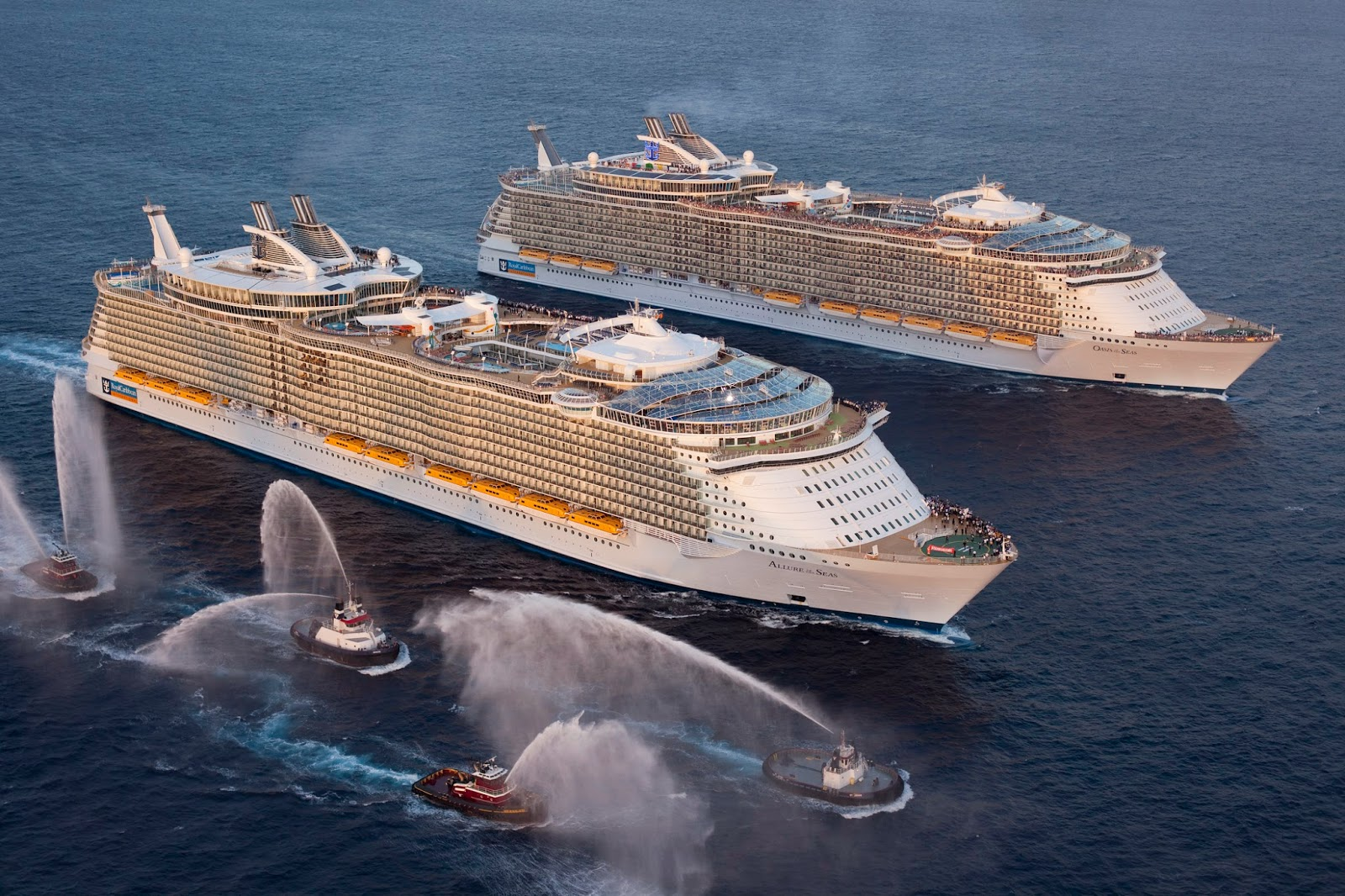 Luxury life design allure of the seas the largest and for What are the best cruises