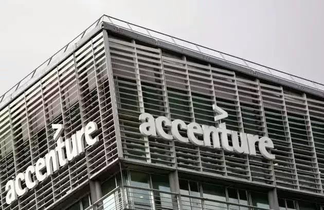 Accenture - faixada do prédio da empresa