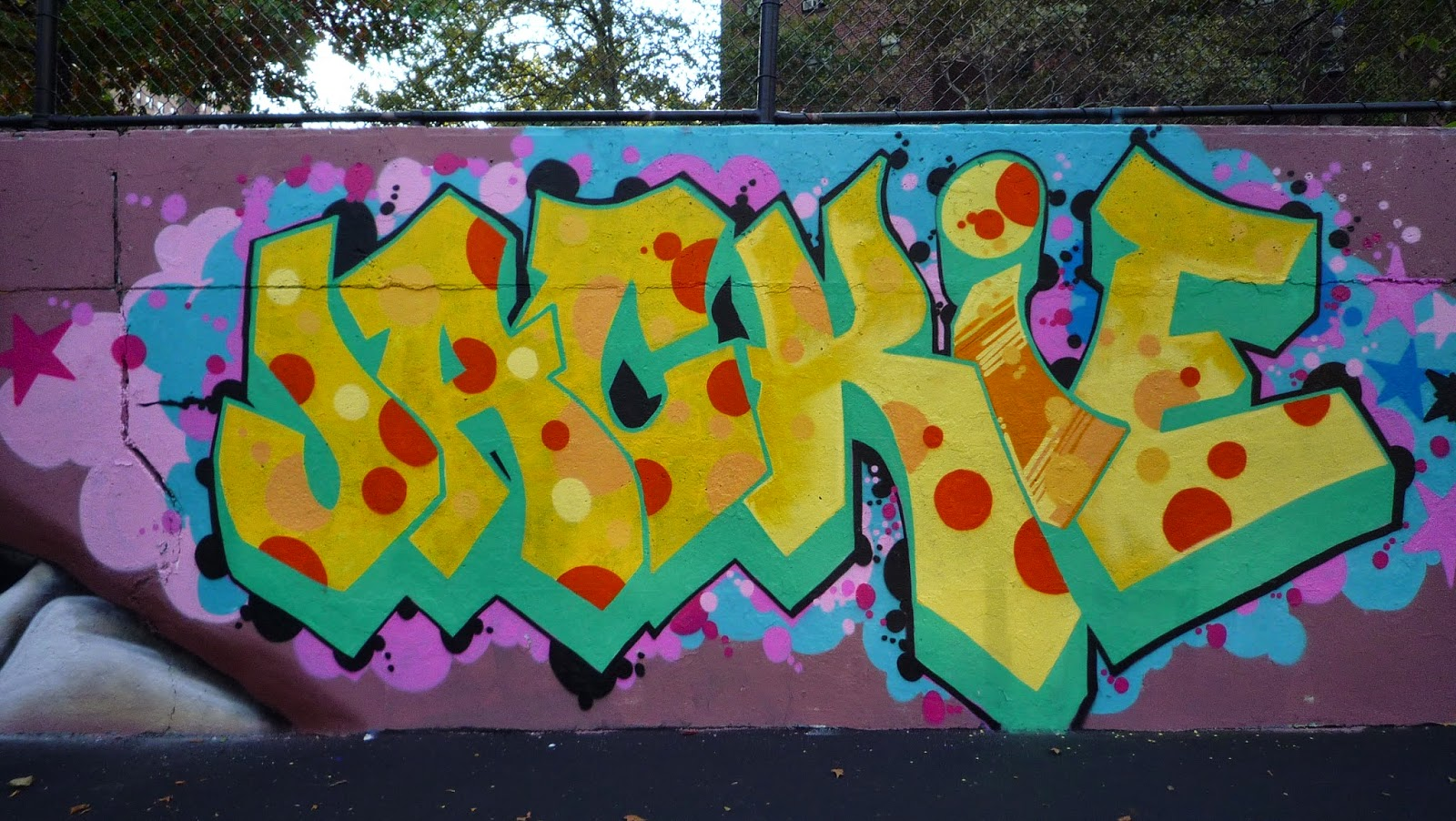 graffiti wall of fame New York (2008) | urban art views