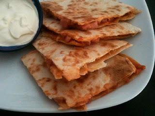 Sincronizadas de jamón york y queso