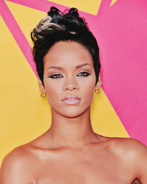 braided hairstyles for short hair tumblr on We Heart Hair ∆ Hairspiration etc: hairvolution of: rihanna