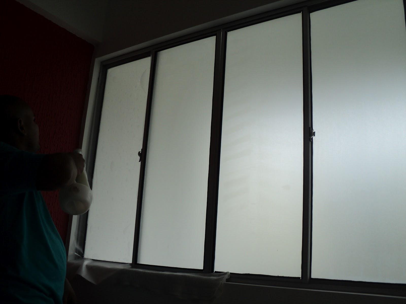 #11100F jateado em janela (efeito de vidro fosco) em Camaragibe (Grande Recife  270 Janelas De Vidro Recife Pe