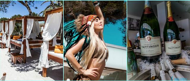 Elpromotions Ibiza Models at Nikki Beach