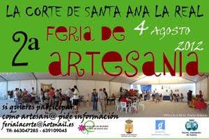Feria de Artesanía de La Corte de Santa Ana La Real (Huelva)