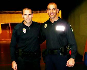Con Fran, gran instructor y policía en Valdeiglesias