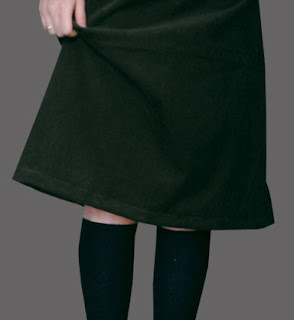 Corduroy Skirt Design Picture