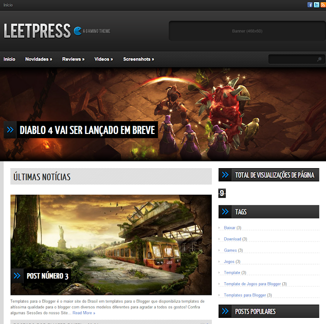 LeetPress Blogger para Baixar