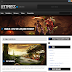 LeetPress Template para Blogger estilo Wordpress Download / Baixar para site de Games