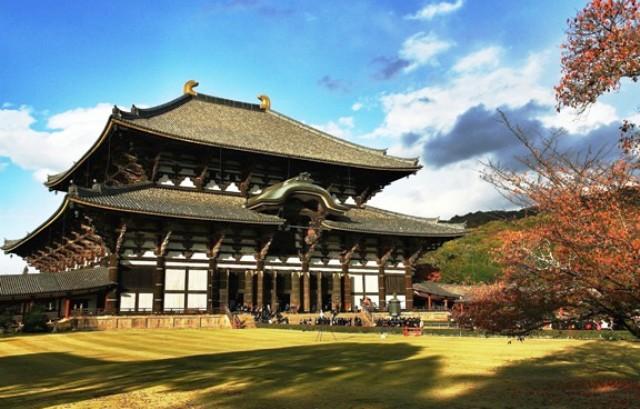 Tempat Wisata Terbaik di Jepang - Kuil Todaiji