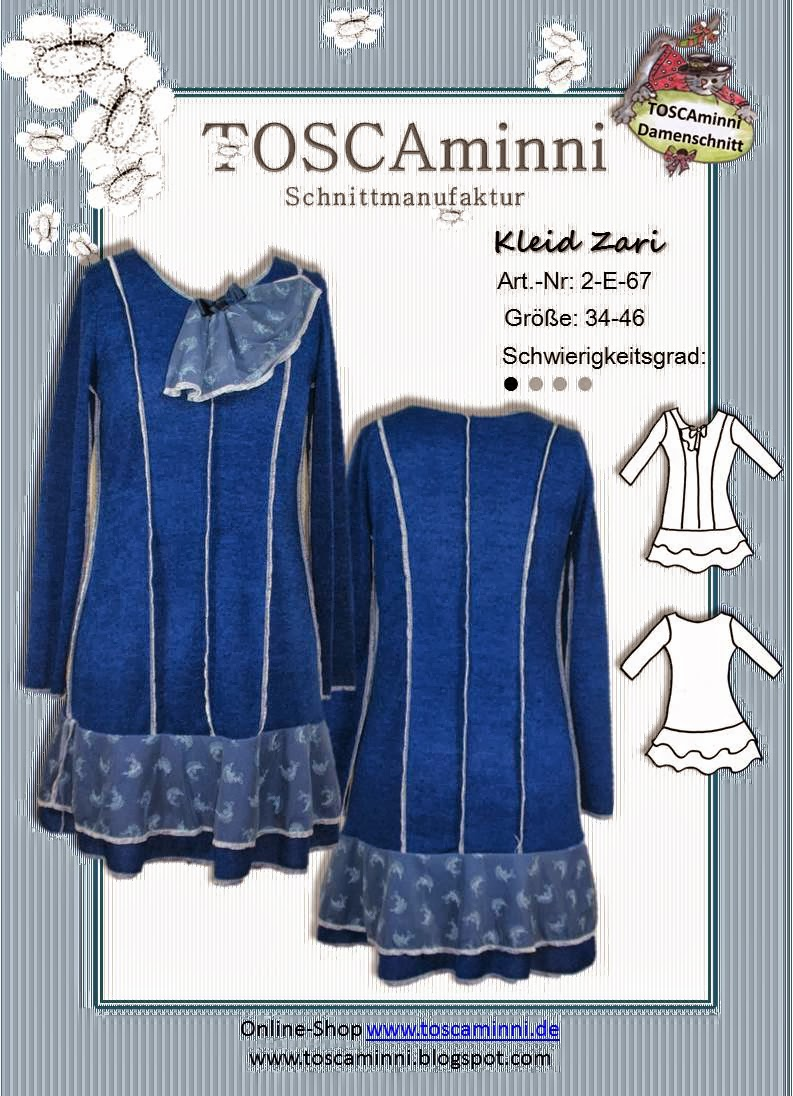 Kleid Zari, Schnittmuster (E-Book)