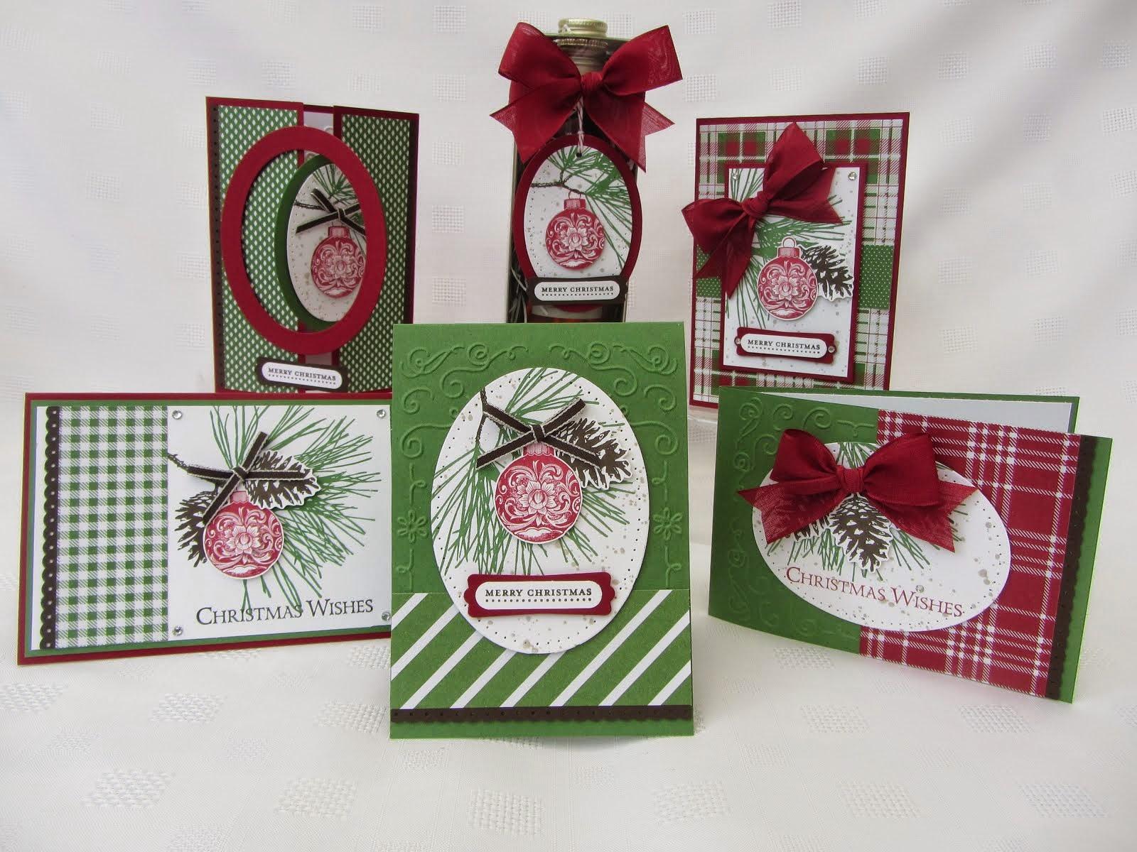 Ornamental Pine Stamp Class