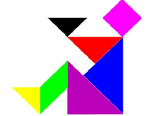 Excepcional ESPAÇO EDUCAR: Sugestões e idéias para montagem do Tangram! EY97