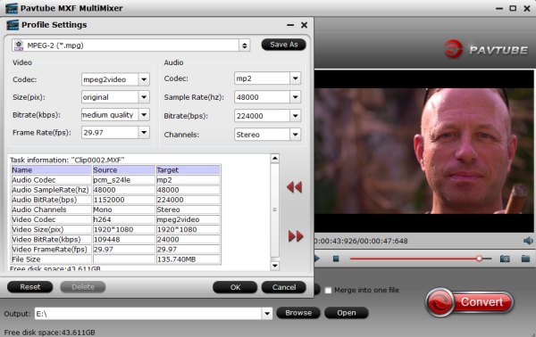 MPEG-2 Settings