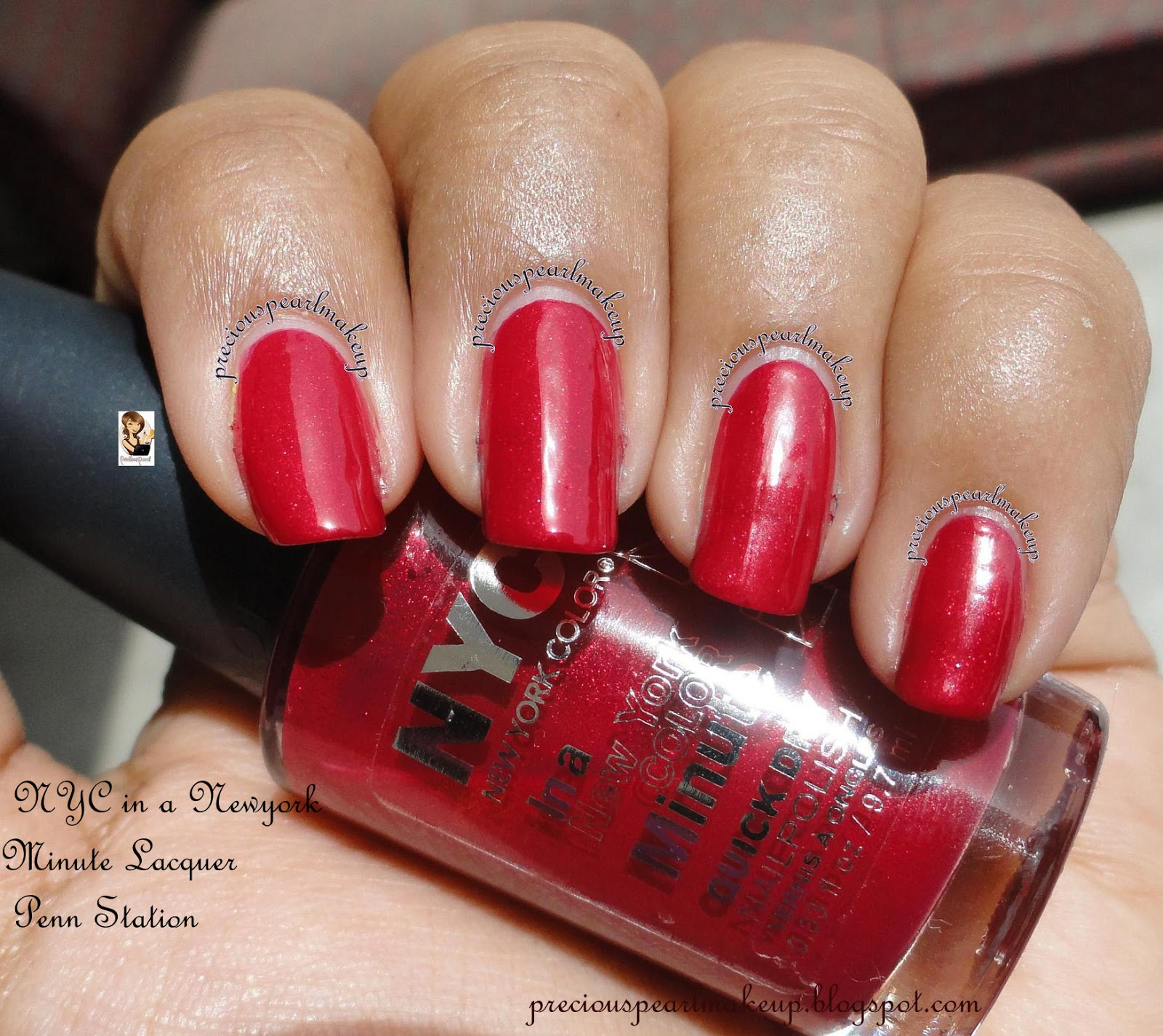 preciouspearlmakeup: NYC In a New York Color Minute Quick Dry Nail ...