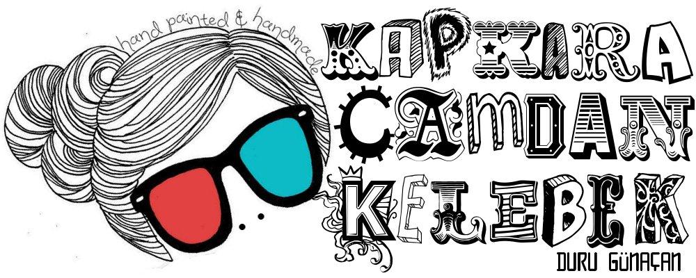 !♥KAPKARA CAMDAN KELEBEK♥!