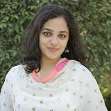 Nitya meenon Latest Photo Gallery in Salwar Kameez at New Movie Opening 9