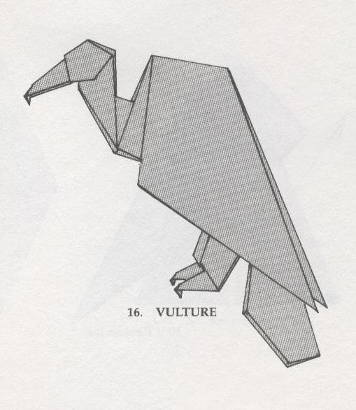 cara membuat origami dalam
