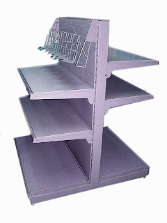 Продам торговые металлические стеллажи недорого