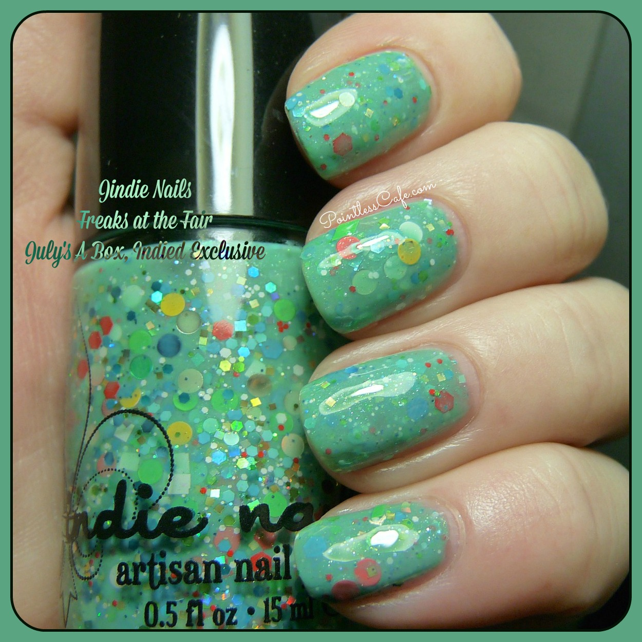 Jindie Nails Freaks at the Fair: Exclusive for July\'s A Box, Indied ...