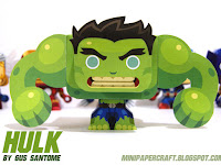 Hulk Mini Papercraft