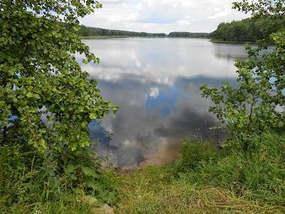 Вид на Пименов пруд с плотины