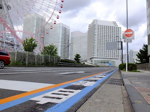 Yokohama Bicycle Lane is a Real Obstacle Course