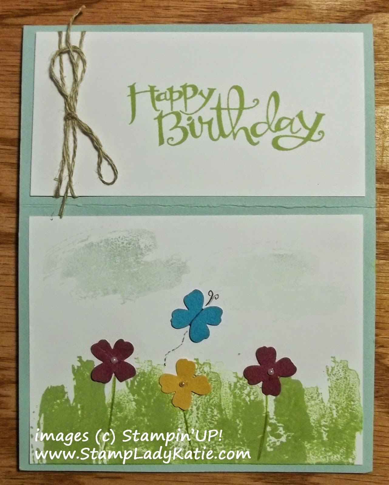 Easel Card made with Stampin'UP!'s Work of Art stamp set