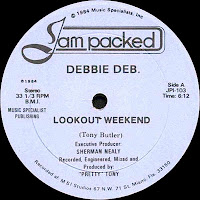 Debbie Deb - Lookout Weekend (Vinyl,12\'\') (1984)