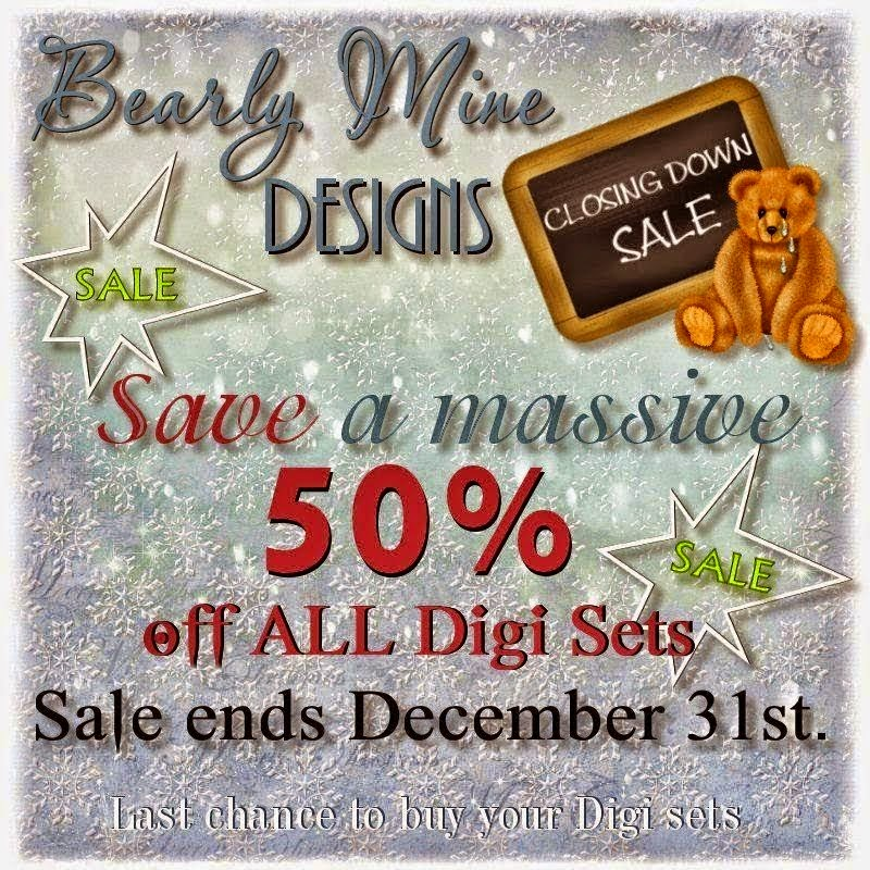Bearly Mine Designs Sale
