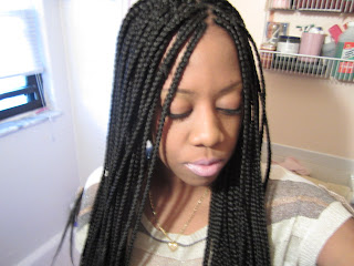 Long Box Braids Hairstyles
