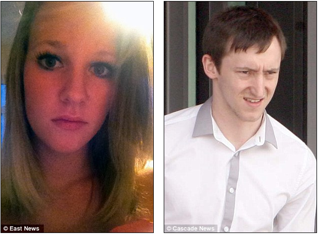 Jilted boyfriend stalked his ex on Facebook and hurled