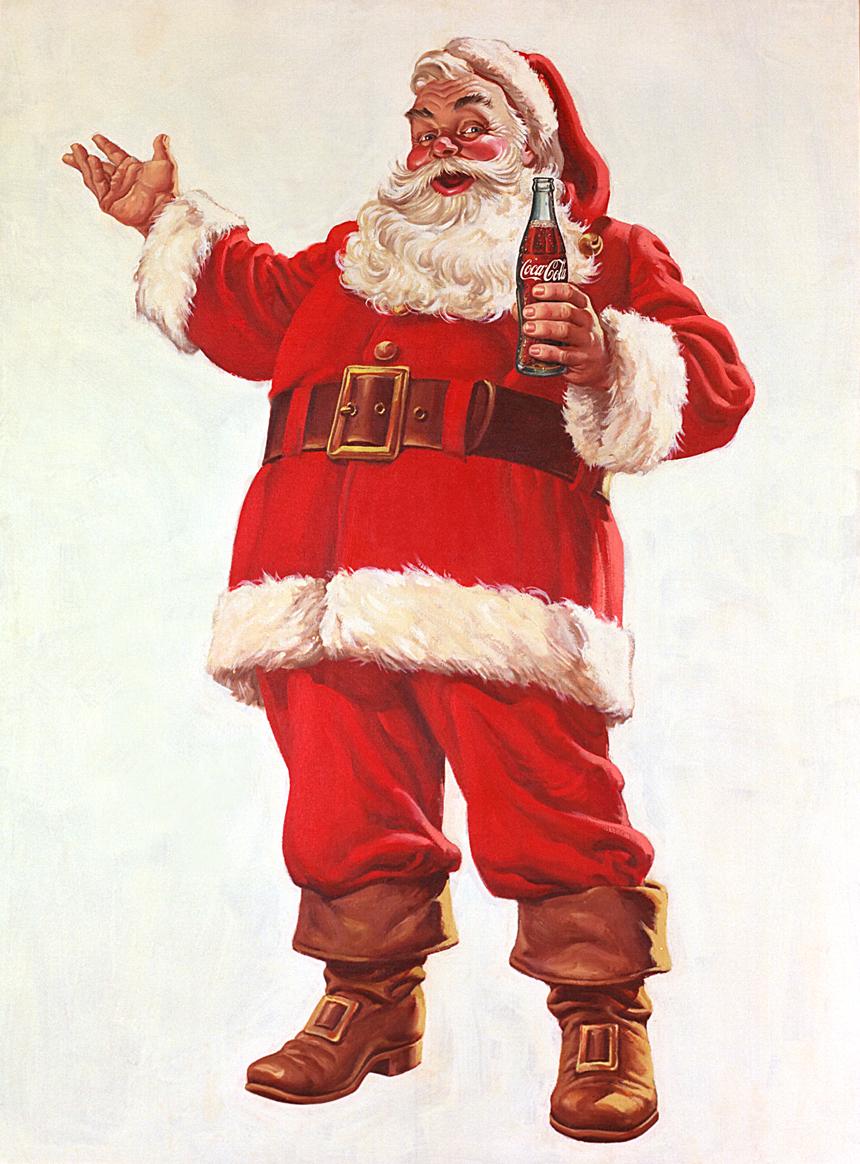 Dibujo de Papá Noel